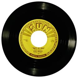 Elvis Presley - That's all right Sun records.