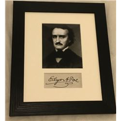 EDGAR ALLAN POE. (1849-1949). Previously lot 24