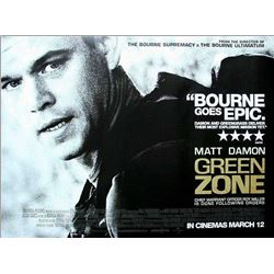 JOB LOT OF X4 - GREEN ZONE: MATT DAMON QUAD POSTER.