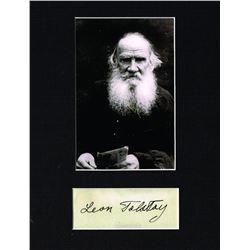 LEON TOLSTOY. (1828-1910).