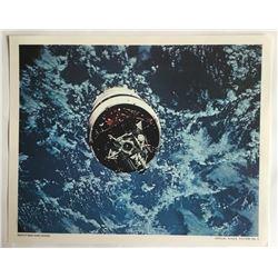 NASA official lithograph