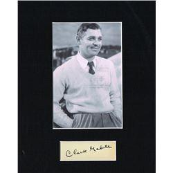 CLARK GABLE (1901-1960).