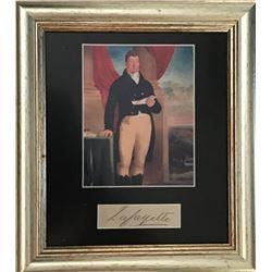 MARQUIS DE LAFAYETTE (1758-1834).