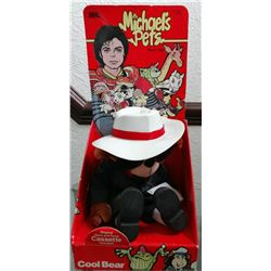 "Michael Jackson Michael's Pets ""Cool Bear"" Toy."