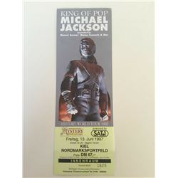 MICHAEL JACKSON UNUSED HISTORY TICKET.