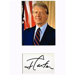 PRESIDENT JIMMY CARTER (1924-).