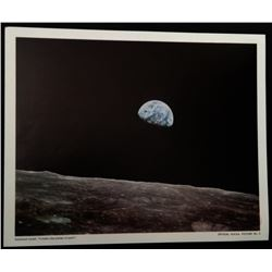 IT LOOKS LIKE PLASTER OF PARIS. OFFICIAL NASA LITHOGRAPH.