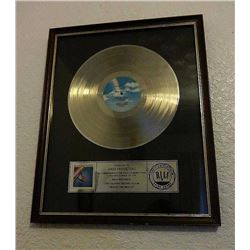 THE FIXX REACH THE BEACH RIAA AWARD.