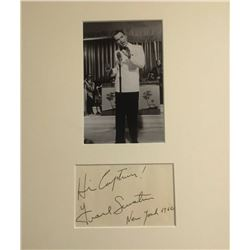 FRANK SINATRA (1915-1988). Previously lot 418