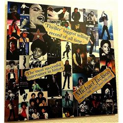 MICHAEL JACKSON THROUGH THE YEARS CANVAS.