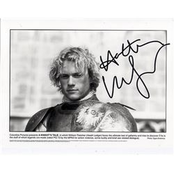 HEATH LEDGER SIGNED (1979-2008).