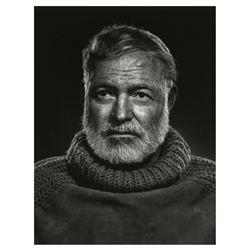 Yousuf Karsh (1908-2002): Ernest Hemingway.