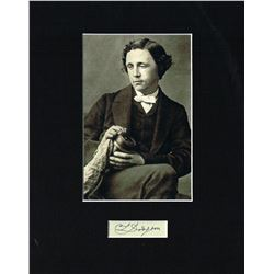 LEWIS CARROLL (1832-1898).