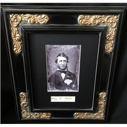 HENRY DAVID THOREAU (1817-1862).