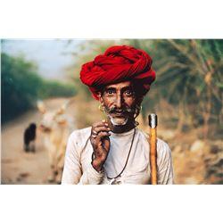 STEVE MCCURRY - Rabari Shepherd, India.