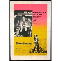 'KING CREOLE' ELVIS MOVIE POSTER.