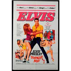 "Elvis Presley Movie Poster - ""Tickle Me"""