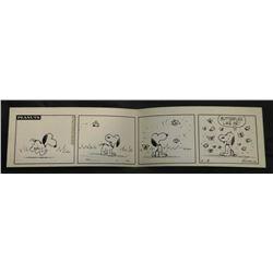 Original Charles Schulz Peanuts Comic Strip Art.