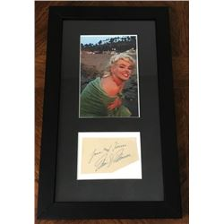 MARILYN MONROE SIGNED (1926-1962). Previously Lot 813