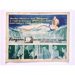 MARILYN MONROE NIAGARA 1953 HALF SHEET.