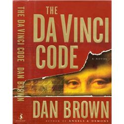 DAN BROWN FIRST STATE PRINTING DA VINCI CODE.