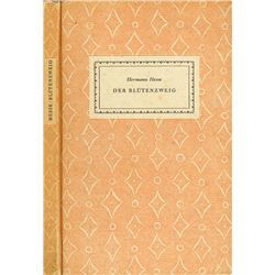 HERMANN HESSE SIGNED FIRST EDITION.