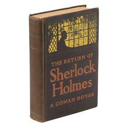 The Return of Sherlock Holmes 1st edition.