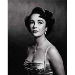 PHILIPPE HALSMAN (1906-1979). Elizabeth Taylor, 1948.