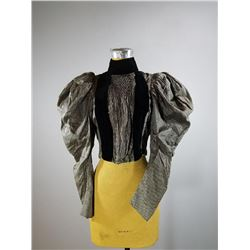 Antique Victorian Bodice with Puff Sleeves