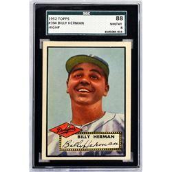1952 Topps Billy Herman High