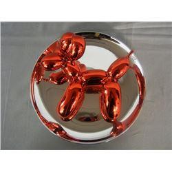 "Jeff Koons, ""Balloon Dog"""