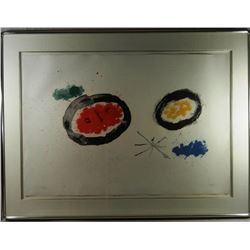 Joan Miro, Colour Lithograph 1961