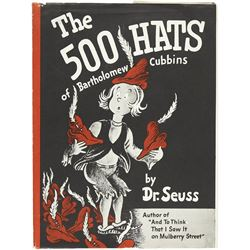 Dr. Seuss. The 500 Hats of Bartholomew Cubbins vintage book