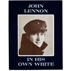 JOHN LENNON SIGNED BOOK.