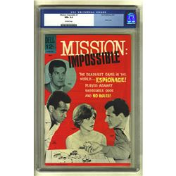 Mission: Impossible #1 (Dell, 1967) CGC NM+ 9.6