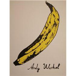 ANDY WARHOL (1928-1987): BANANA.