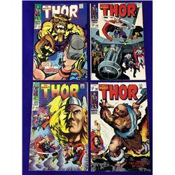 4 Thor Comics