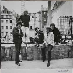 Gered Mankowitz Signed Rolling Stones Photograph.