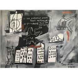 JEAN MICHEL BASQUIAT (1960-1980): UNTITLED.