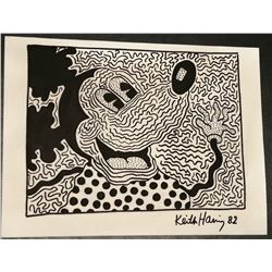 KEITH HARING (1958-1990): UNTITLED