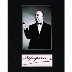 ALFRED HITCHCOCK. (1899-1980).