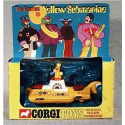 CORGI 803 BEATLES YELLOW SUBMARINE