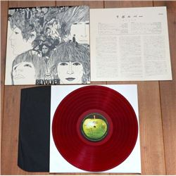 The Beatles- Revolver Lp/ 1St Japanese Red Wax Pressing On Apple Records
