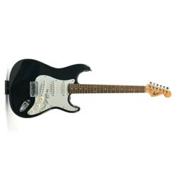 Keith Richards signed guitar.