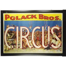 Polack Bros. Circus Poster.