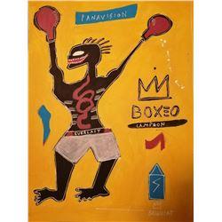 Jean-Michel Basquiat (1966-1988).