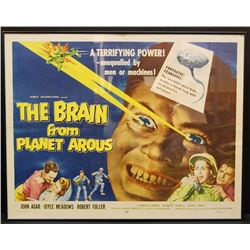 The Brain From Planet Arous movie poster