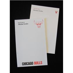 Michael Jordan Personal Notepads.