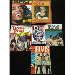 COLLECTION OF VINTAGE MAGAZINES.