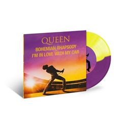 """Queen - Bohemian Rhapsody - I'm in Love With My Car - New Coloured Vinyl 7"""" -RSD"""